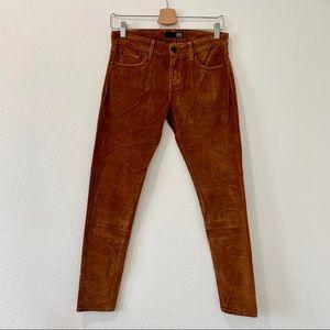 David Kahn brown soft pants